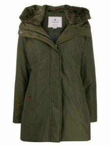 Woolrich hooded down coat - Green