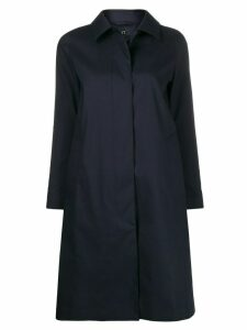 Mackintosh Dunkeld button up coat - Blue
