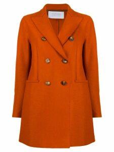 Harris Wharf London short double breasted coat - Orange
