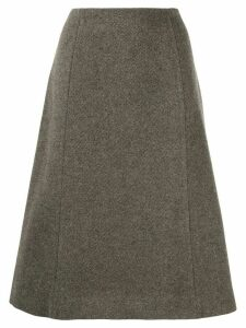 Maison Margiela flared A-line skirt - Grey