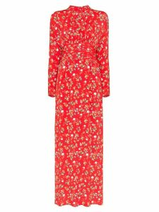 byTiMo floral print maxi dress - Red
