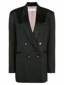 Marques'Almeida oversized double-breasted blazer - Black