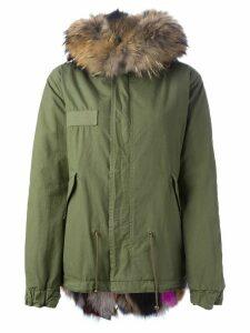 Mr & Mrs Italy fox fur lined parka - Green