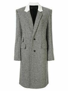 Haider Ackermann button down herringbone coat - Grey