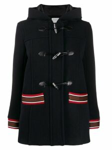 Sandro Paris Faust duffle trimmed coat - Blue