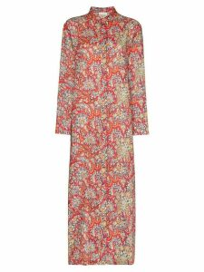 Etro Fiordaliso paisley print tunic dress - Red