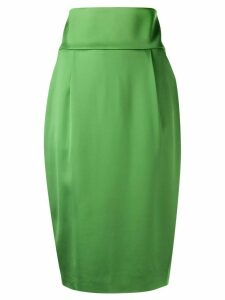 Alexandre Vauthier satin skirt - Green