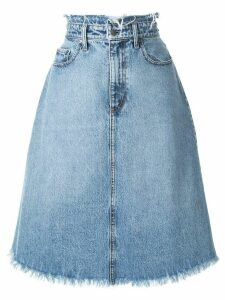 Nobody Denim Vita denim midi skirt - Blue