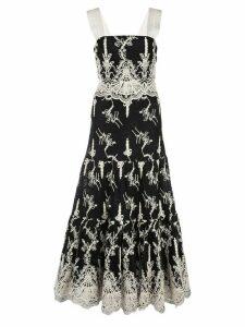 Alexis Karolina flared dress - Black