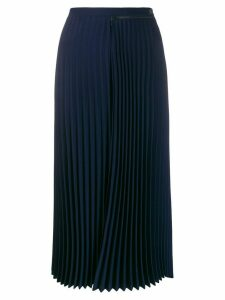 Lacoste pleated midi skirt - Blue