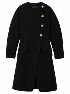 Proenza Schouler Boucle tweed coat - Black