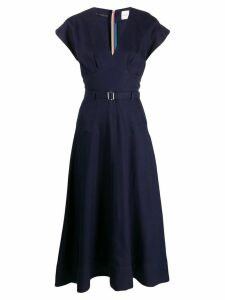 Paul Smith wrap dress - Blue