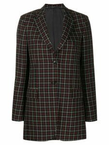 Paul Smith checked blazer - Black