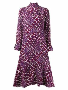 Dorothee Schumacher Freedom printed shift dress - PINK
