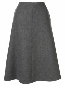 Stella McCartney high-waisted A-line skirt - Grey