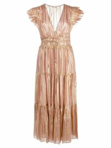 Ulla Johnson Justyne flared midi dress - PINK