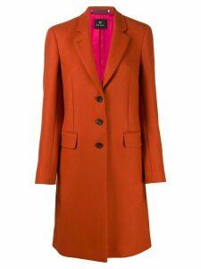 PS Paul Smith single breasted coat - Orange