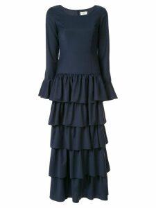 Maryam Nassir Zadeh Flute dress - Blue