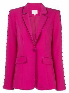 Cinq A Sept embellished Vivi blazer - PINK