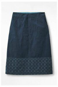 Womens White Stuff Blue Georgia Skirt -  Blue
