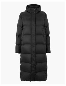 M&S Collection Ultralight Down & Feather Quilted Coat