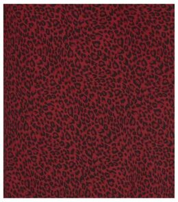 Burgundy Leopard Print Bias Cut Midi Skirt New Look