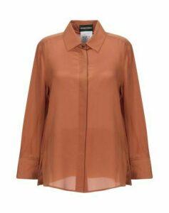EMPORIO ARMANI SHIRTS Shirts Women on YOOX.COM