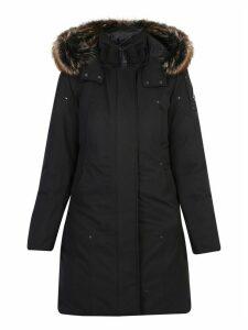 Moose Knuckles Cotton Blend Parka Coat