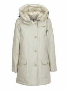 Woolrich White Arctic Parka Cn Nf
