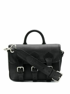 Mulberry x Acne Studios satchel bag - Black
