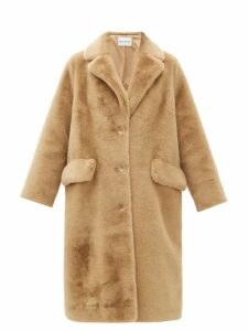 Stand Studio - Theresa Faux Fur Coat - Womens - Brown