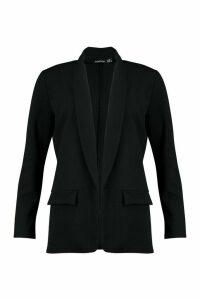 Womens Tailored Blazer - black - 14, Black