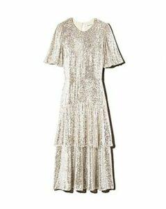 Whistles Arabelle Sequined Midi Dress