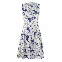 DKNY Slim Line Fit and Flare Dress Ladies