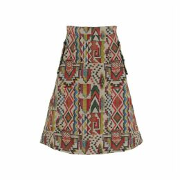 relax baby be cool - Multicolor Midi Skirt With Pockets
