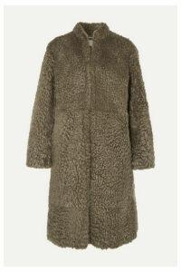 Chloé - Shearling Coat - Army green