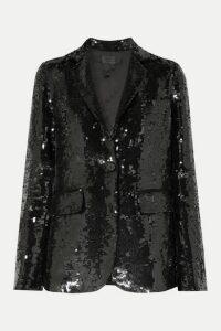 Nili Lotan - Sophia Sequined Crepe Blazer - Black