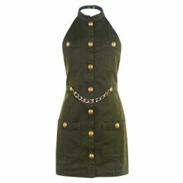 Balmain Military Dress
