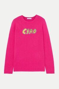 Bella Freud - Ciao Intarsia Cashmere Sweater - Pink