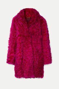 Sies Marjan - Ripley Shearling Coat - Fuchsia