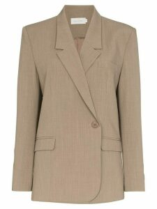Low Classic side fastening blazer - Brown