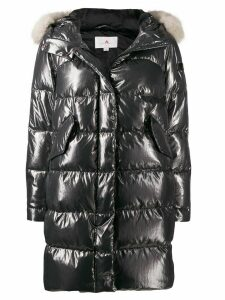 Peuterey metallic down padded parka - Grey