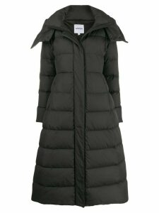 Aspesi hooded padded coat - Black