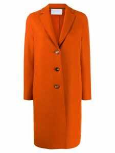 Harris Wharf London single breasted coat - Orange