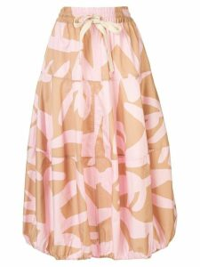 Lee Mathews Leia balloon skirt - PINK