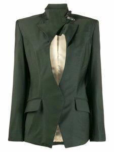 Situationist keyhole blazer - Green