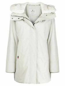 Woolrich hooded down parka - Grey