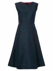 Marni piped flared dress - Blue