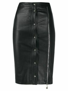 John Richmond Dombi zipped skirt - Black