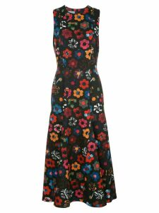 Jonathan Cohen Anna floral dress - Black